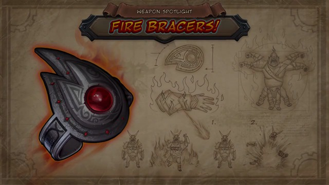 Fire Bracers