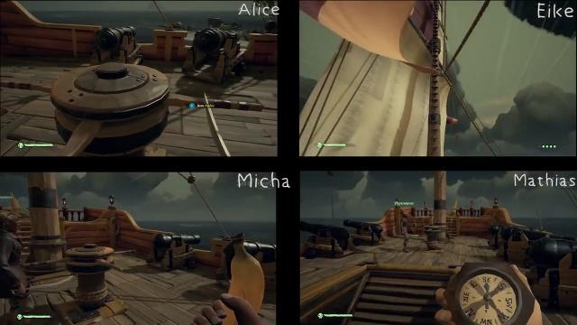 Multiplayer-Spielszenen: Tod eines Invasors