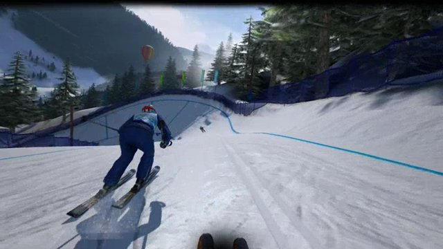 Slalom und Trickski