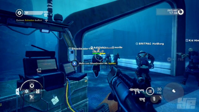 Lag- und Texturenvideo (Xbox 360)