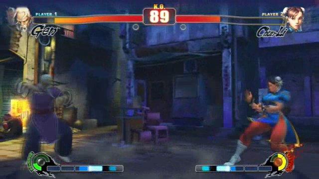 Gen vs. Chun Li
