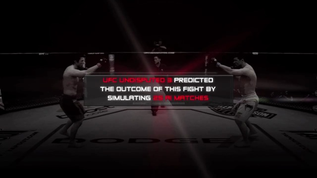 Sonnen vs. Bisping-Simulation
