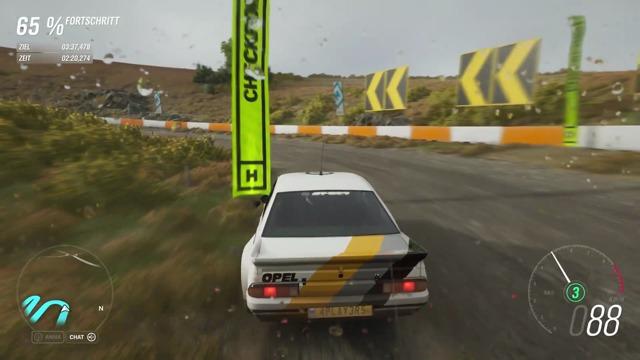 Wer schlägt Michas Zeit in Forza Horizon 4?