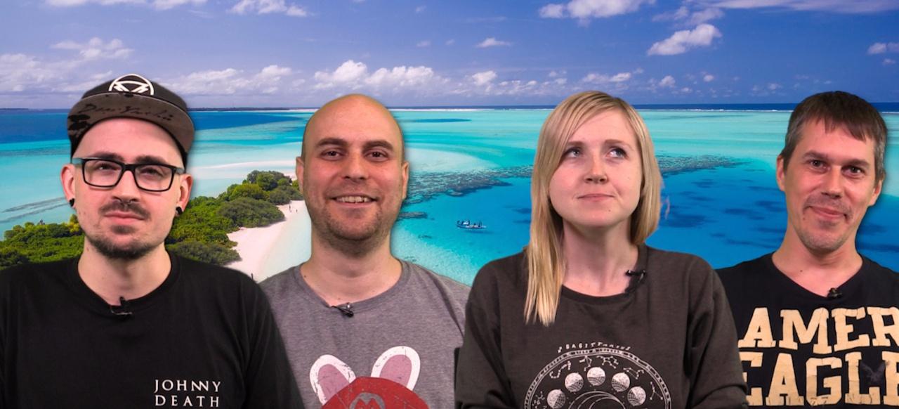 Michael, Jan, Alice und Eike sprechen über ihre liebsten virtuellen Urlaubsorte