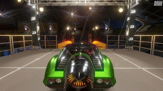 Exklusive Spielszenen: Stunts und Zeitfahren