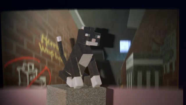 Cats & Pandas: A Minecraft Fable of Friendship